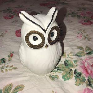 Owl Porcelain Piggy Bank